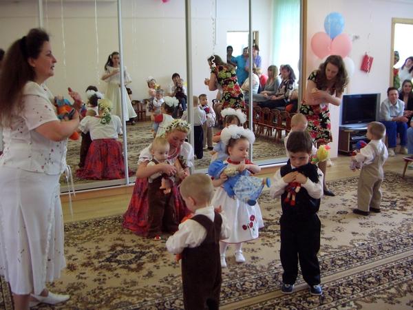 Танец с детьми